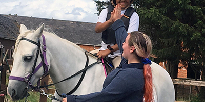 Pony Hour sessions for beginners at the Ride High Equestrian Centre Milton Keynes