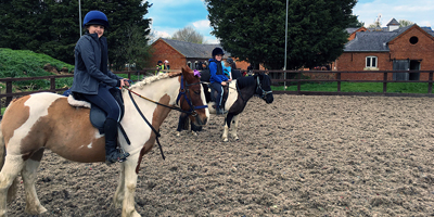 Pony Experience Day at the Ride High Equestrian Centre Milton Keynes